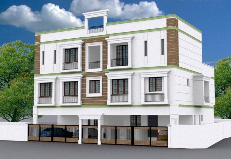 Tulasi Apartments in Valasaravakkam
