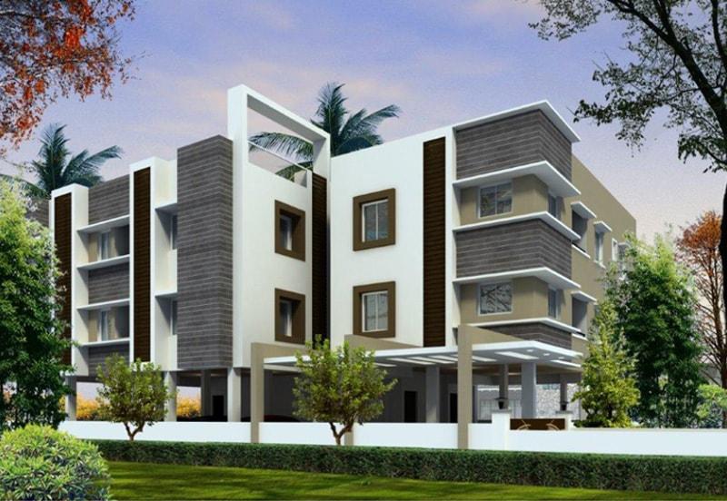 Venu Vihar Apartments in Thoraipakkam - Elevation by Green Leaves