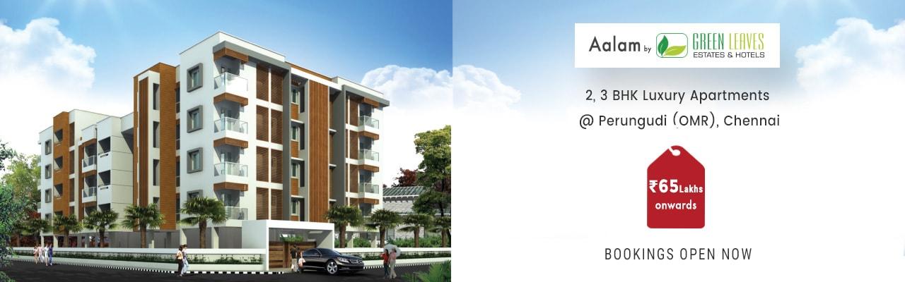 Aalam 2, 3 BHK Flats for Sale in Perungudi, Flats in Perungudi